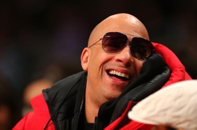 Vin Diesel sorride