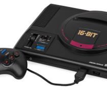 Il mitico Sega Mega Drive a 16-bit e il suo controller
