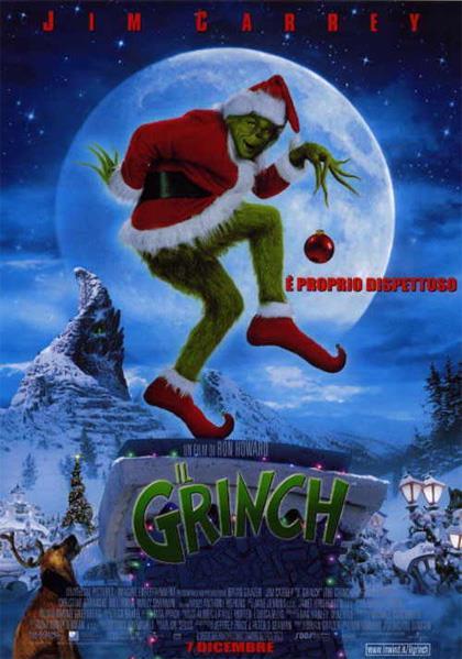 Il Grinch, locandina del film con Jim Carrey