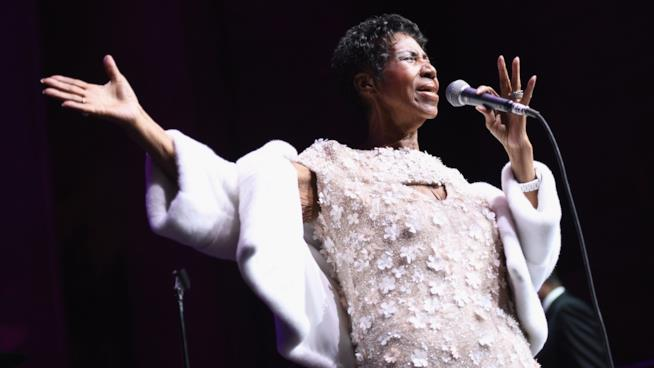 Aretha Franklin in concerto
