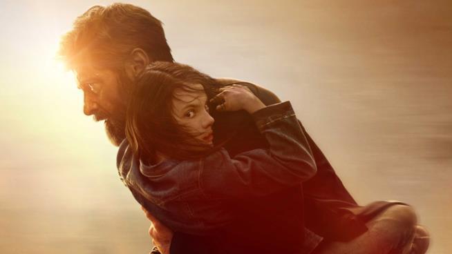 Wolverine e X-23 nel poster di Logan