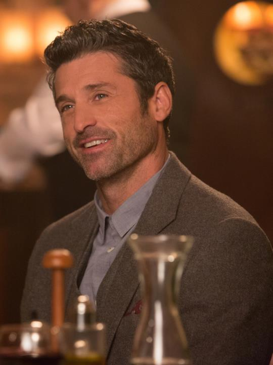 Il giornalista Jack Qwant (Patrick Dempsey) in Bridget Jones's Baby