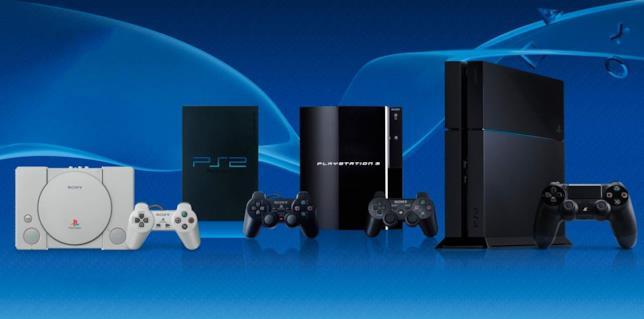 Le console domestiche della famiglia PlayStation