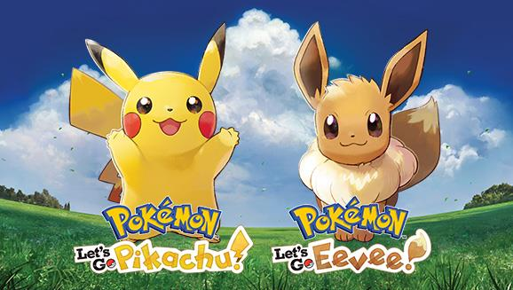 Pokémon: Let's Go, Pikachu! e Pokémon: Let's Go, Eevee!, titoli Nintendo