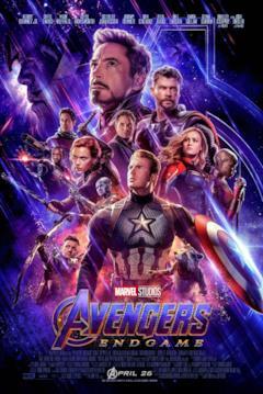 I Vendicatori e Thanos nel poster di Avengers: Endgame