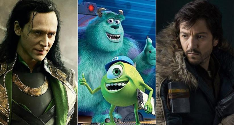 Tom Hiddleston, i mostri di Monsters Inc e Diego Luna