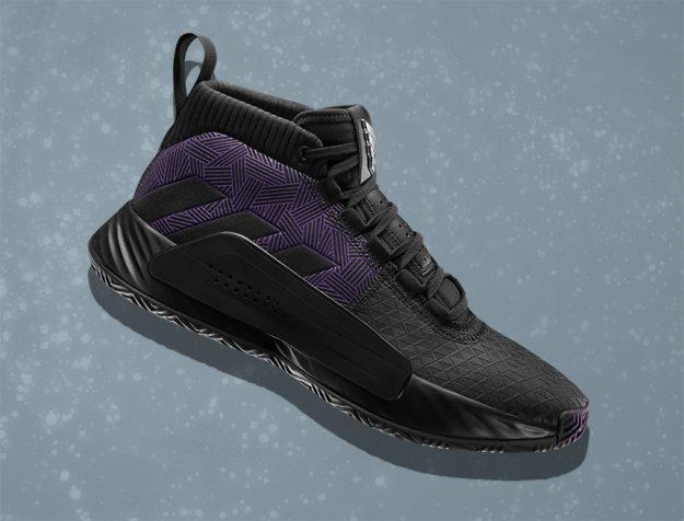 Adidas: modello Dame 5 Black Panther