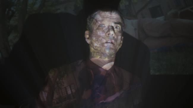 Clark un attimo prima di essere ucciso