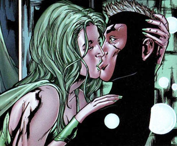 Havok e Polaris in una tavola di X-Men