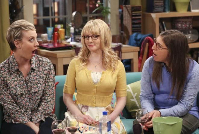Penny, Bernadette ed Amy di The Big Bang Theory