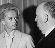 Uno sguardo tra Alfred Hitchcock e Tippi Hedren