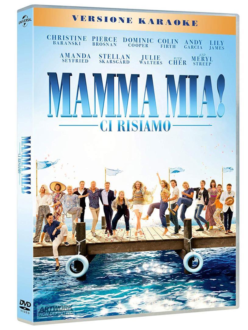 Mamma Mia! Ci risiamo - DVD