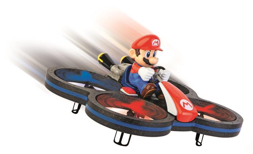 Super Mario sfida i cieli con il suo drone