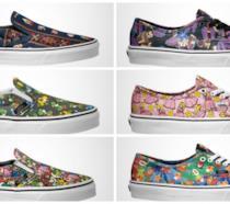 Collezione scarpe Vans a tema Nintendo
