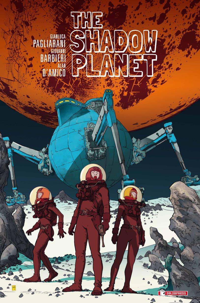 Cover del fumetto The Shadow Planet
