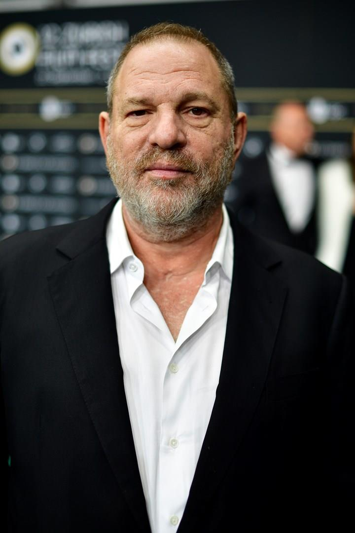 Harvey Weinstein in primo piano