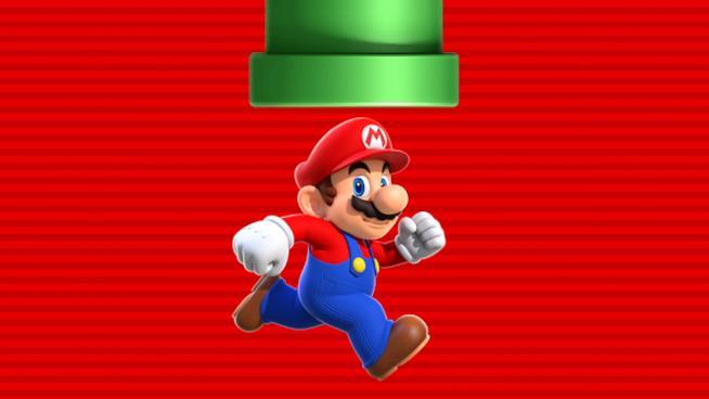 Super Mario corre sulla cover ufficiale di Super Mario Run