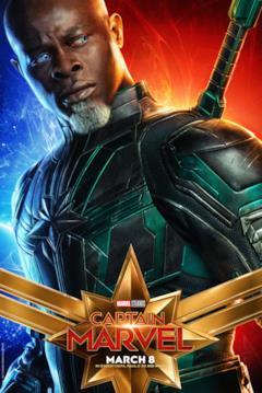 Il character poster di Captain Marvel con Korath (Djimon Honsou)