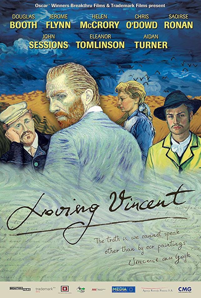Il poster ufficiale del film Loving Vincent