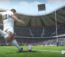 Un giocatore di Rugby 18 scende in campo in uno screenshot ufficiale del gioco