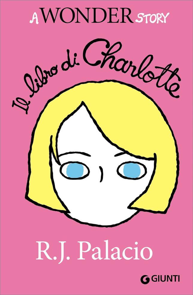 Charlotte su sfondo rosa