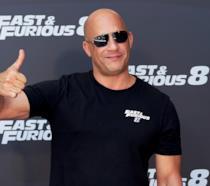 Vin Diesel alla prima di Fast & Furious 8