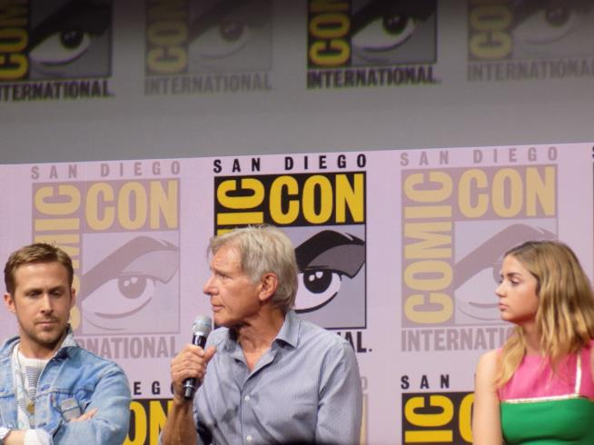 SDCC2017, Ryan Gosling, Harrison Ford e Ana de Armas al panel di Blade Runner 2049