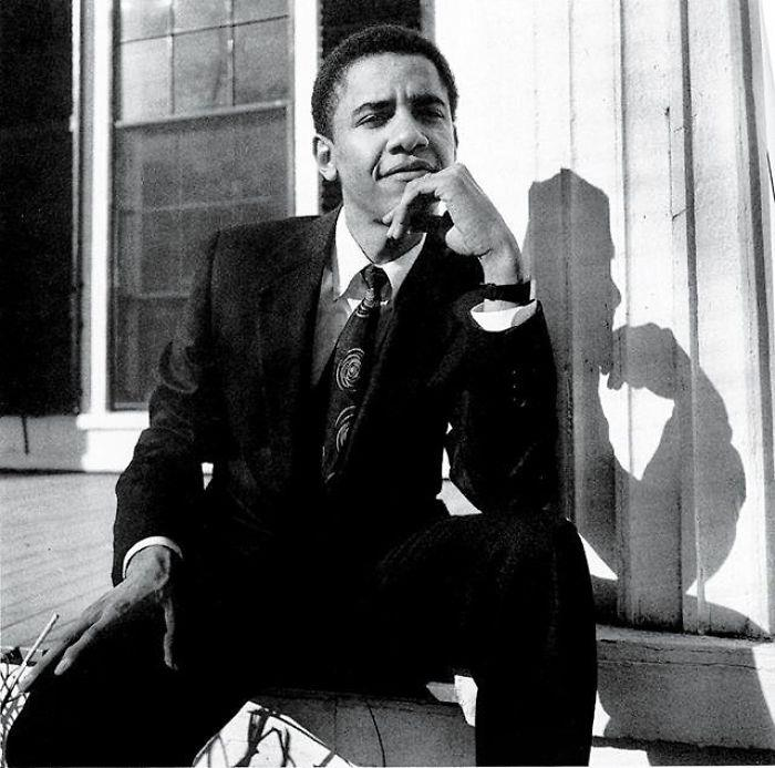 Barack Obama a 28 anni