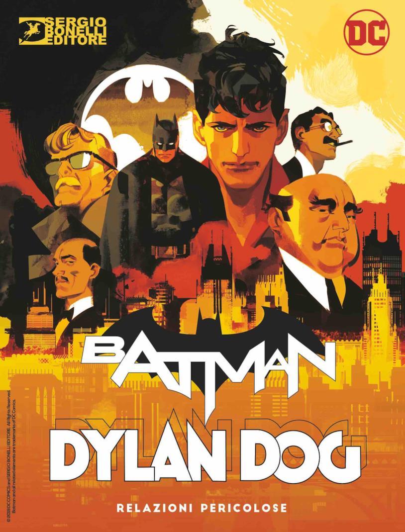 Batman Dylan Dog crossover