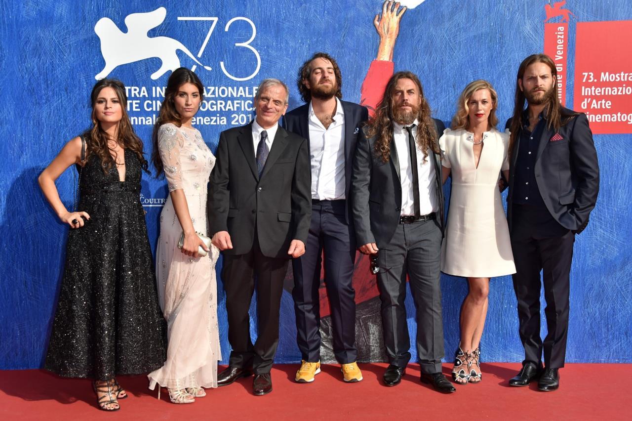 Il cast del film Il Più Grande Sogno a Venezia 73