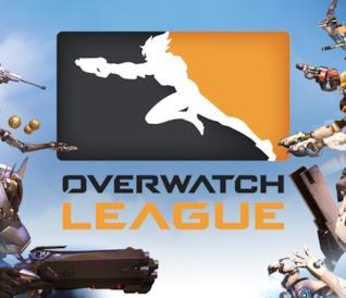 Il logo ufficiale della Overwatch League