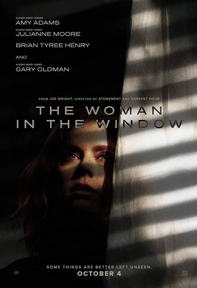 Il poster di Woman in the Window con la precedente data d'uscita