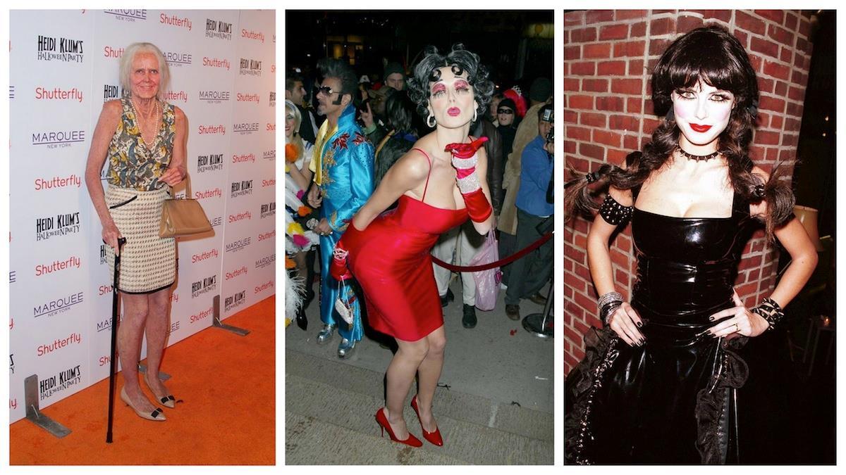 Alcuni dei migliori travestimenti sfoggiati ad Halloween da Heidi Klum