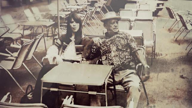 Una foto di 'Papillon' al suo Gran Café a Caracas