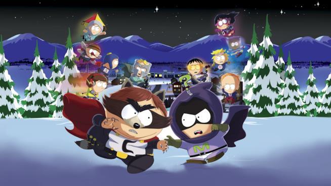 Eroi e villain di South Park: Scontri Di-Retti si scontrano sulla cover del videogame