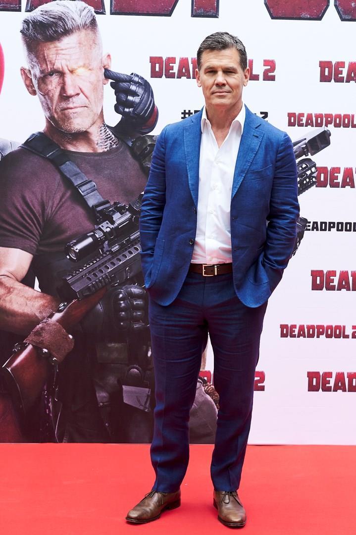 Josh Brolin alla presentazione di Deadpool 2