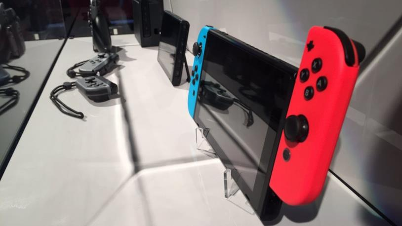 Nintendo Switch a Milano prima dell'uscita