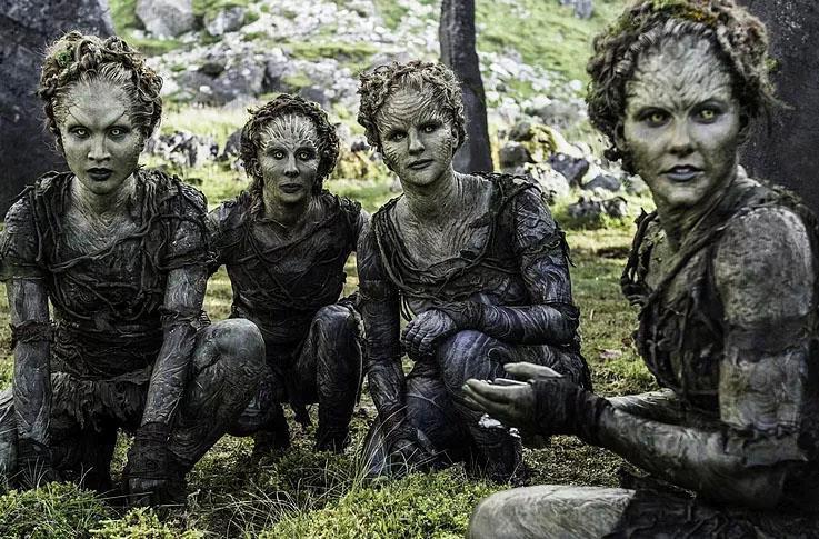 I Figli della Foresta in Game of Thrones