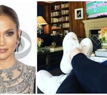 Jennifer Lopez e lo scatto condiviso su Instagram