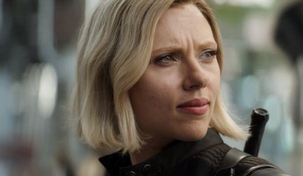 La Vedova Nera in una scena dal trailer di Avengers: Infinity War