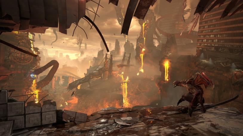 Terra in fiamme Doom