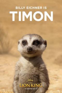character poster di Timon