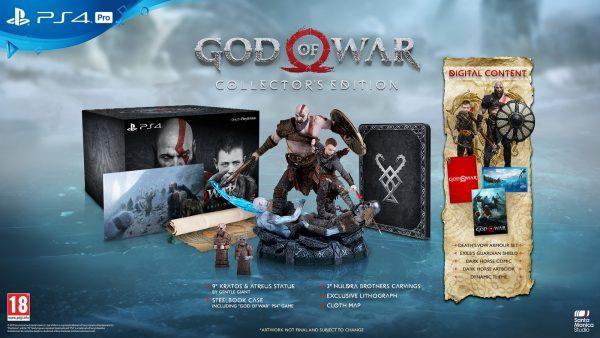 Sony svela la Collector's Edition di God of War