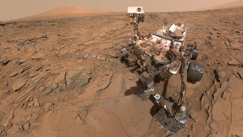 Il rover Curiosity su Marte