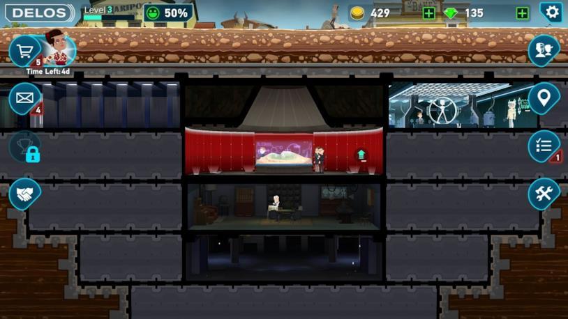 Un'immagine di gameplay di Westworld