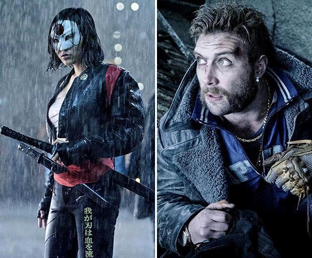 Katana e Captain Boomerang in Suicide Squad