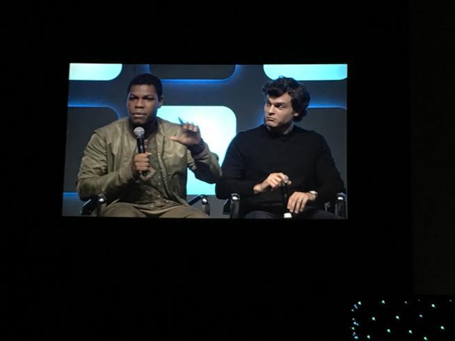 John Boyega e Alden Ehrenreich