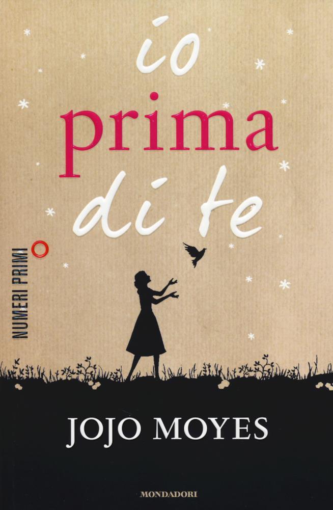 Io Prima di Te la copertina del romanzo
