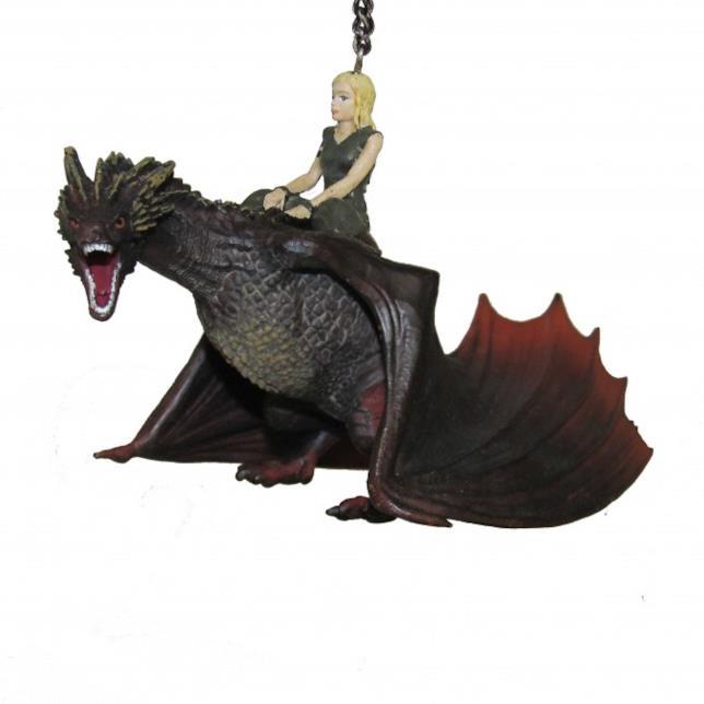 Immagine del ciondolo con Daenerys e Drogon