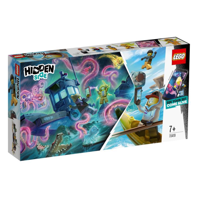 LEGO Hidden Side: set gioco con mattoncini e realtà aumentata